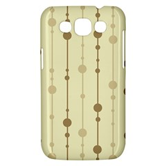 Brown pattern Samsung Galaxy Win I8550 Hardshell Case