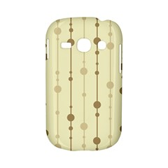 Brown pattern Samsung Galaxy S6810 Hardshell Case