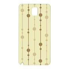Brown pattern Samsung Galaxy Note 3 N9005 Hardshell Back Case