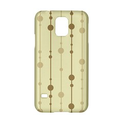 Brown pattern Samsung Galaxy S5 Hardshell Case