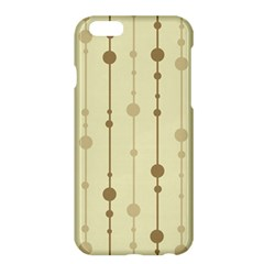 Brown pattern Apple iPhone 6 Plus/6S Plus Hardshell Case