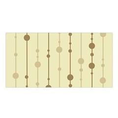 Brown pattern Satin Shawl