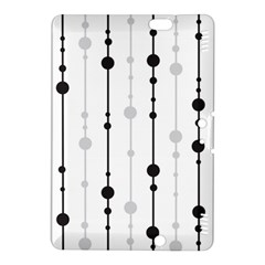 Black and white elegant pattern Kindle Fire HDX 8.9  Hardshell Case