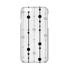 Black and white elegant pattern Apple iPhone 6/6S Hardshell Case