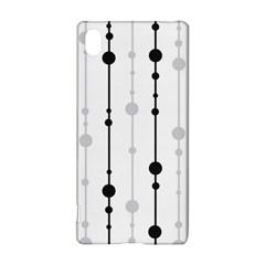 Black and white elegant pattern Sony Xperia Z3+