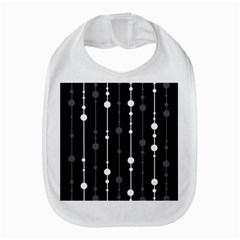 Black And White Pattern Bib