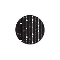 Black and white pattern Golf Ball Marker (4 pack)