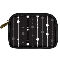 Black and white pattern Digital Camera Cases