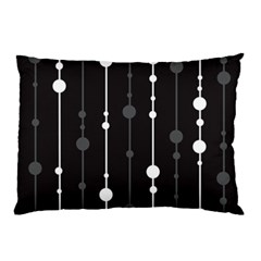 Black and white pattern Pillow Case (Two Sides)