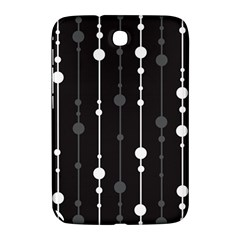 Black and white pattern Samsung Galaxy Note 8.0 N5100 Hardshell Case