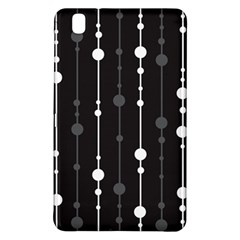 Black and white pattern Samsung Galaxy Tab Pro 8.4 Hardshell Case