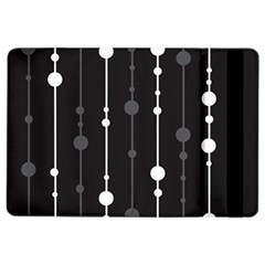 Black and white pattern iPad Air 2 Flip