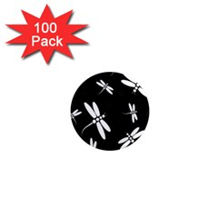 Dragonflies pattern 1  Mini Magnets (100 pack)