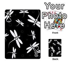 Dragonflies pattern Playing Cards 54 Designs