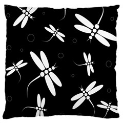 Dragonflies pattern Large Cushion Case (One Side)