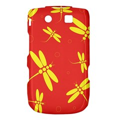 Red and yellow dragonflies pattern Torch 9800 9810