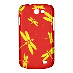 Red and yellow dragonflies pattern Samsung Galaxy Express I8730 Hardshell Case