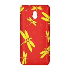 Red and yellow dragonflies pattern HTC One Mini (601e) M4 Hardshell Case