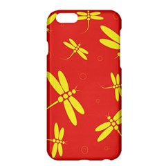 Red and yellow dragonflies pattern Apple iPhone 6 Plus/6S Plus Hardshell Case