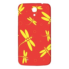 Red and yellow dragonflies pattern Samsung Galaxy Mega I9200 Hardshell Back Case