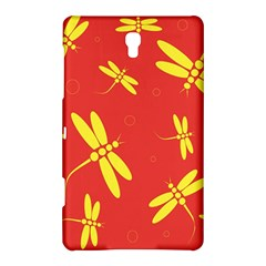 Red and yellow dragonflies pattern Samsung Galaxy Tab S (8.4 ) Hardshell Case