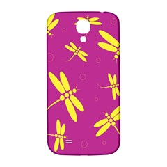 Purple and yellow dragonflies pattern Samsung Galaxy S4 I9500/I9505  Hardshell Back Case