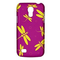 Purple and yellow dragonflies pattern Galaxy S4 Mini