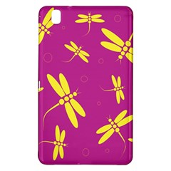 Purple and yellow dragonflies pattern Samsung Galaxy Tab Pro 8.4 Hardshell Case