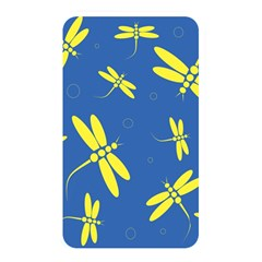 Blue and yellow dragonflies pattern Memory Card Reader