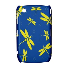 Blue and yellow dragonflies pattern Curve 8520 9300