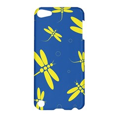 Blue and yellow dragonflies pattern Apple iPod Touch 5 Hardshell Case
