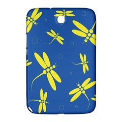 Blue and yellow dragonflies pattern Samsung Galaxy Note 8.0 N5100 Hardshell Case