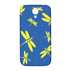 Blue and yellow dragonflies pattern Samsung Galaxy S4 I9500/I9505  Hardshell Back Case