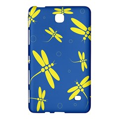 Blue and yellow dragonflies pattern Samsung Galaxy Tab 4 (7 ) Hardshell Case