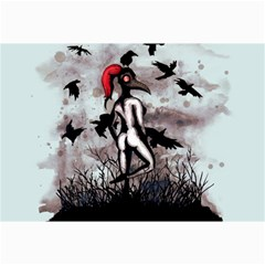 Dancing With Crows Collage Prints
