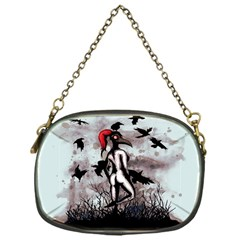 Dancing With Crows Chain Purses (one Side)