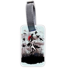 Dancing With Crows Luggage Tags (Two Sides)