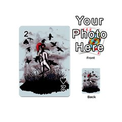 Dancing With Crows Playing Cards 54 (mini)
