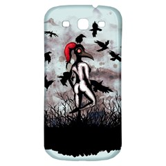Dancing With Crows Samsung Galaxy S3 S III Classic Hardshell Back Case