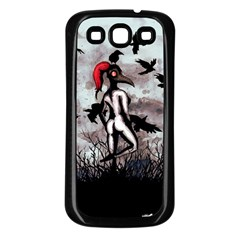 Dancing With Crows Samsung Galaxy S3 Back Case (Black)