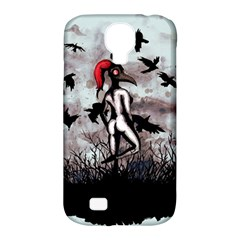 Dancing With Crows Samsung Galaxy S4 Classic Hardshell Case (PC+Silicone)