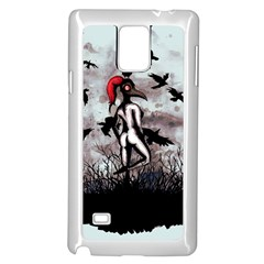 Dancing With Crows Samsung Galaxy Note 4 Case (White)