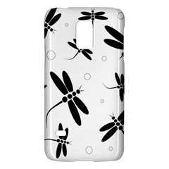 Black and white dragonflies Galaxy S5 Mini