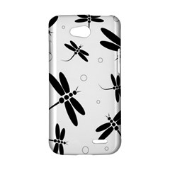 Black and white dragonflies LG L90 D410