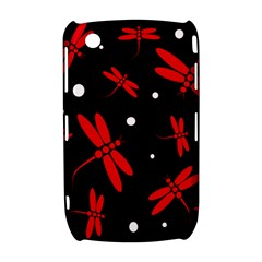 Red, black and white dragonflies Curve 8520 9300