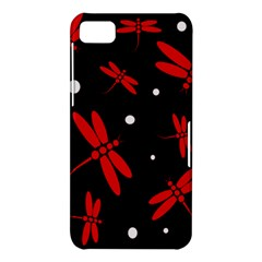 Red, black and white dragonflies BlackBerry Z10