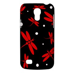 Red, black and white dragonflies Galaxy S4 Mini