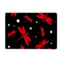 Red, black and white dragonflies iPad Mini 2 Flip Cases