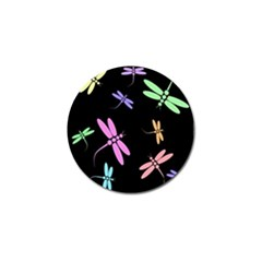 Pastel dragonflies Golf Ball Marker (10 pack)