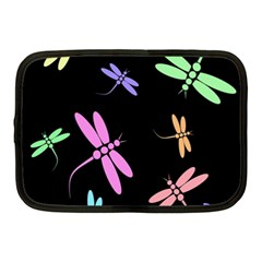 Pastel dragonflies Netbook Case (Medium)